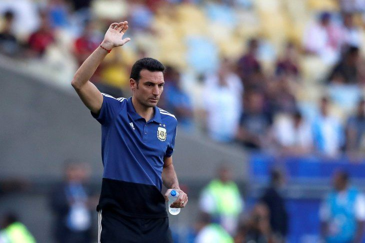 Scaloni: Messi aporta mucho para nosotros no hay ninguna duda