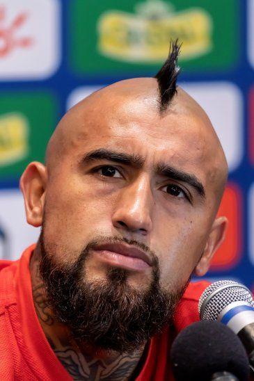 Vidal evita hablar de Neymar y el Barça: Ya juego con los mejores