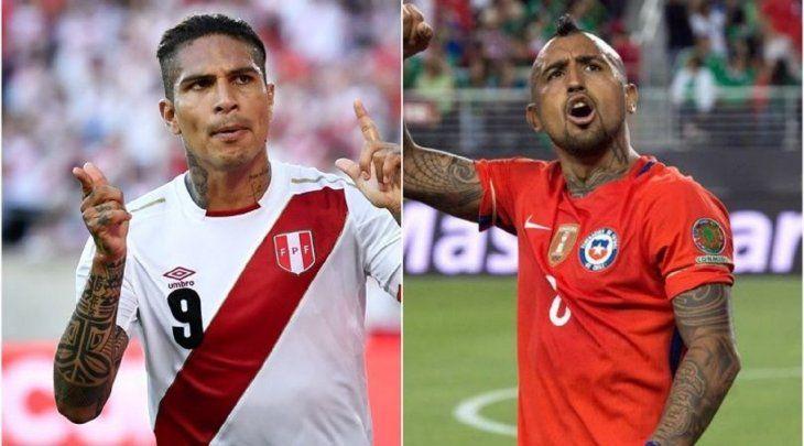Hoy se ven las caras: Paolo Guerreo y Arturo Vidal