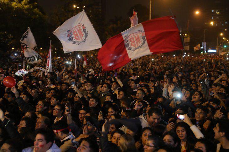 Perú es finalista de la Copa América.