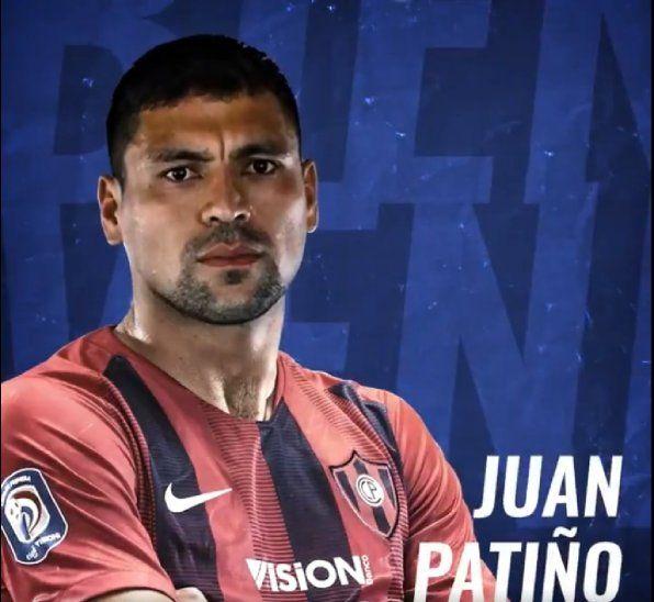 Cerro anuncia oficialmente a Juan Patiño.