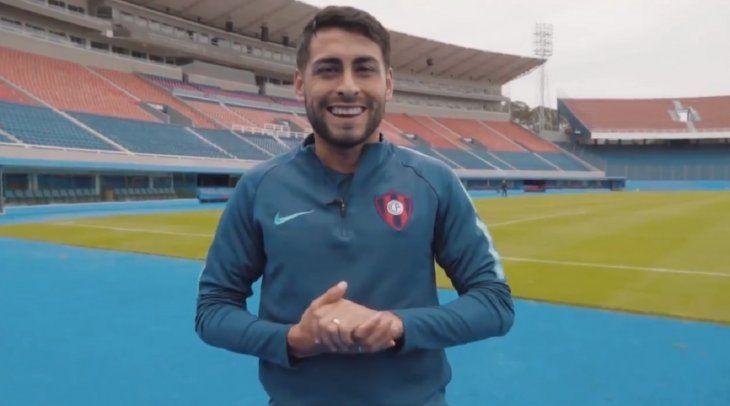 El futbolista grabó un mensaje para el mundo Cerro.