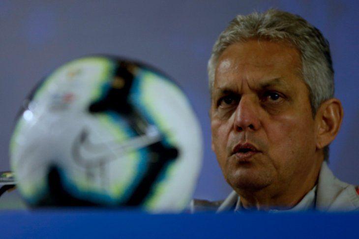 Reinaldo Rueda habló en conferencia de prensa este jueves.