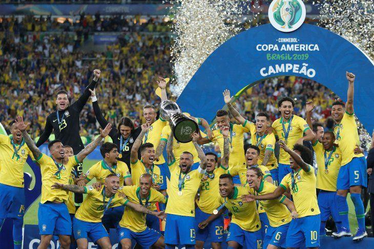 Brasil siendo Brasil en su Copa América.