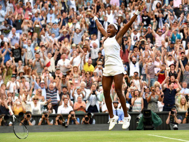 Gauff sigue escribiendo su historia en Wimbledon.