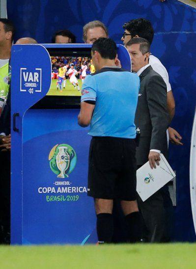 El protagonista de la Copa América fue el VAR.