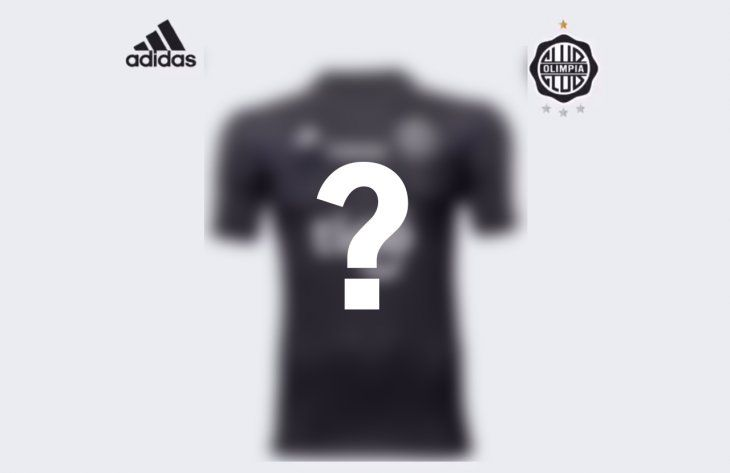 Olimpia presentó su nueva camiseta alternativa.