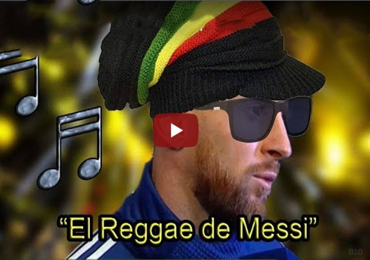 El Reggae de Messi rompe en las redes.