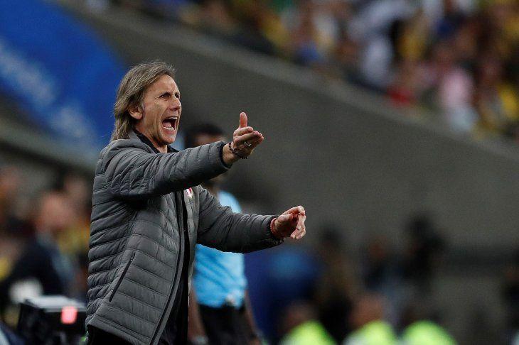 Gareca cree que Perú va por buen camino tras subcampeonato en Copa América