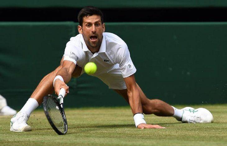 Djokovic jugará su sexta final en Wimbledon.