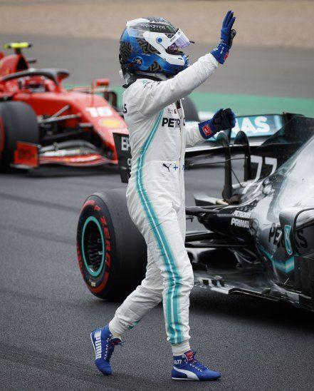 Bottas firma la pole en Silverstone.