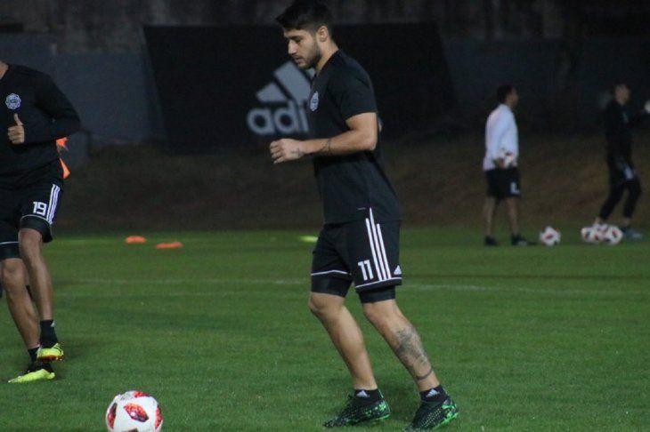 Iván Torres a disposición de Garnero para los próximos desafíos.