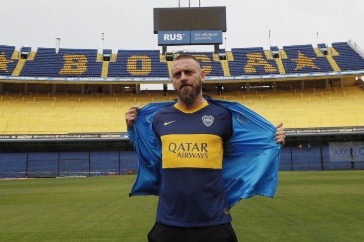 Daniele de Rossi cumplió el sueño de su vida al arribar a Boca Juniors.