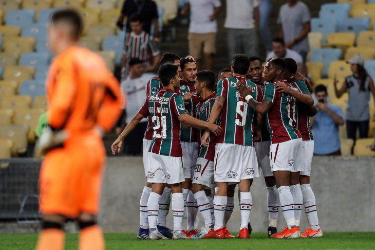 El Fluminense sigue en la Copa Sudamericana.