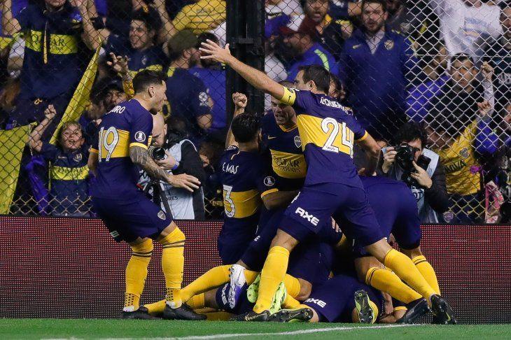 Boca ganó en la Bombonera.