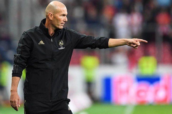 Zidane: Vamos a hacer muchas cosas este año.