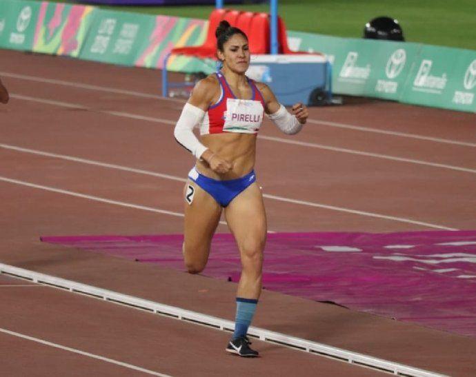 Camila Pirelli queda a segundos de la medalla en los Panamericanos.