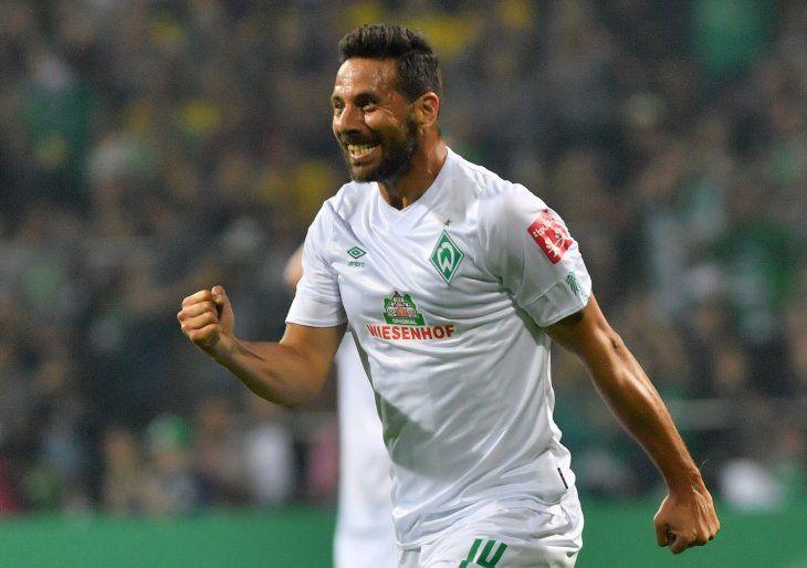 Pizarro, inoxidable: doblete con el Werder Bremen en Copa