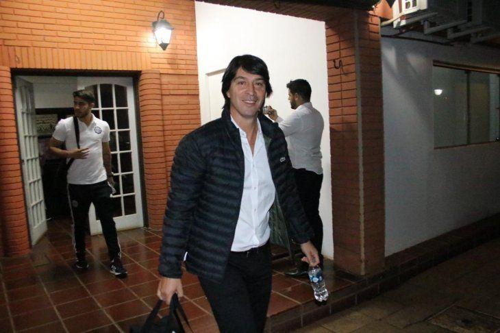 Daniel Garnero buscará recuperar a algunos lesionados para medir a Cerro Porteño.