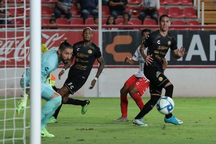 Danilo tuvo su bautismo de gol en México.