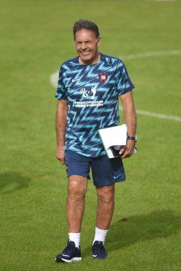 Miguel Ángel Russo ya tendría el onceno definido para el juego ante Olimpia.