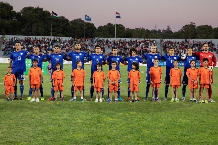 La Albirroja venció a Jordania.