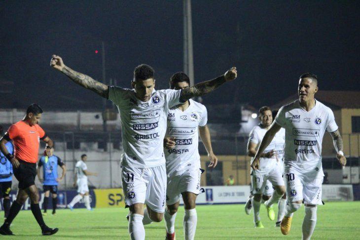 Sol de América clasificó a los cuartos de la Copa Paraguay 2019.