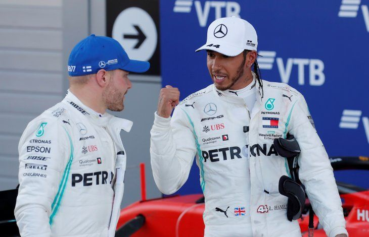 Lewis Hamilton ganó en Sochi.