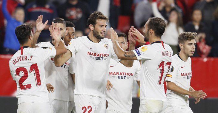 El Sevilla sumó de a tres este jueves.