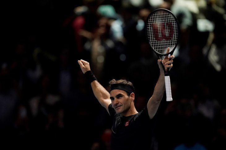 Federer logró un gran triunfo ante Djokovic.
