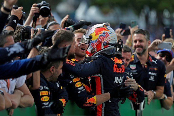 Verstappen conquistó el Gran Premio de Brasil.