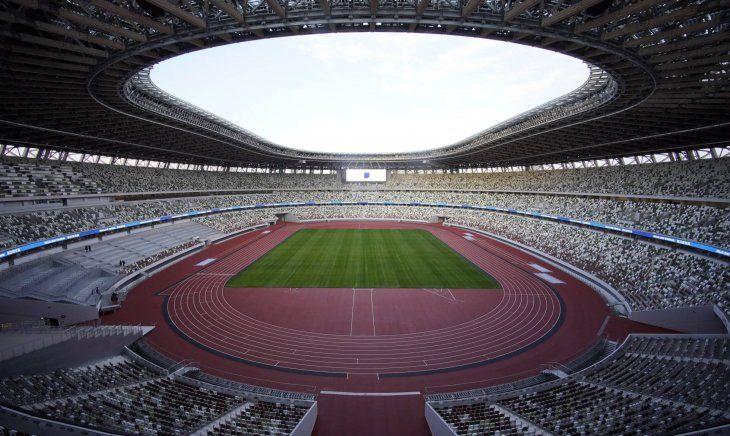 El estadio Olímpico Tokyo albergará los Juegos Olímpicos 2020.