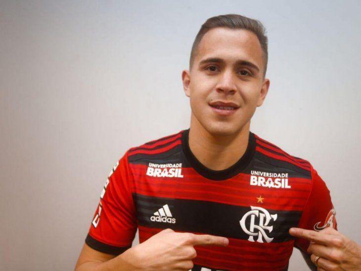 Piris Da Motta podría dejar el Flamengo para jugar en el América.