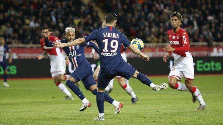 El PSG goleó al Mónaco.
