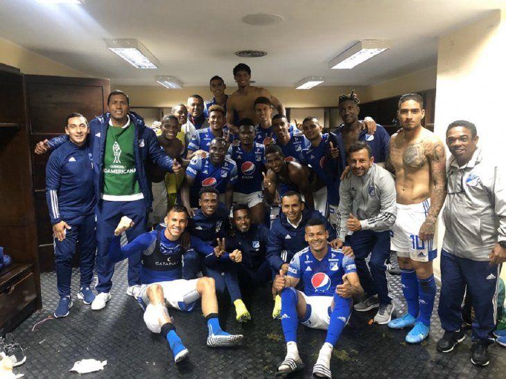 Millonarios avanzó en la Sudamericana.