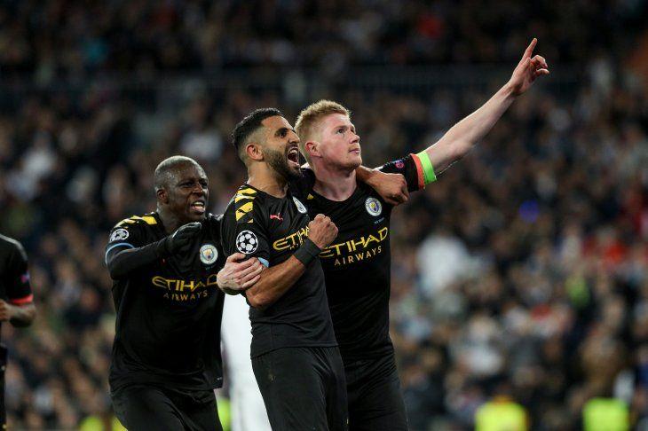 El Manchester City triunfó en el Santiago Bernabéu.