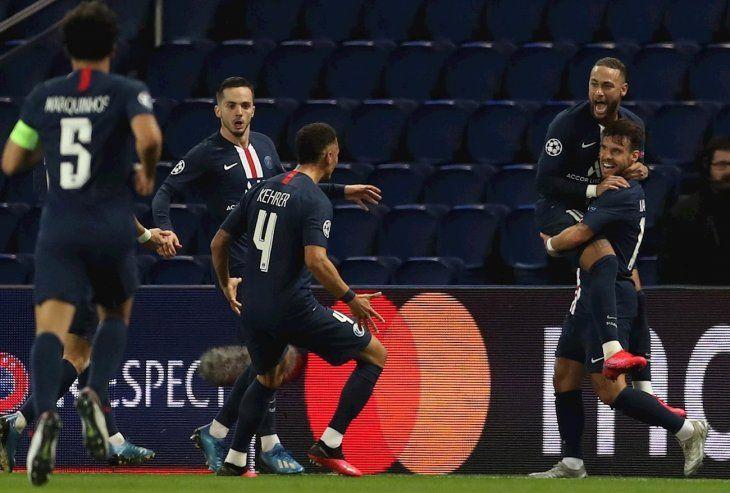 El PSG eliminó al Borussia y se metió en cuartos.