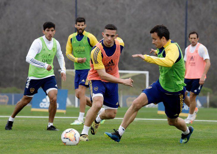 Boca Juniors se prepara para el partido del jueves ante Libertad.