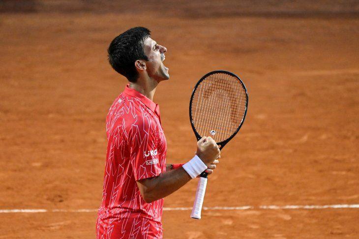 Djokovic gana en Roma.