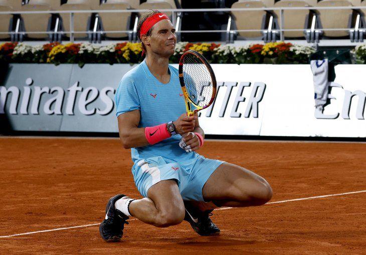 Nadal vuelve a ganar en Roland Garros.