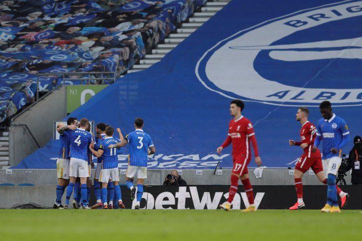 Liverpool no pasó del empate.