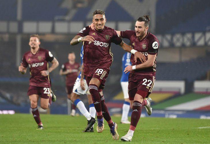 El Lees triunfó ante el Everton.