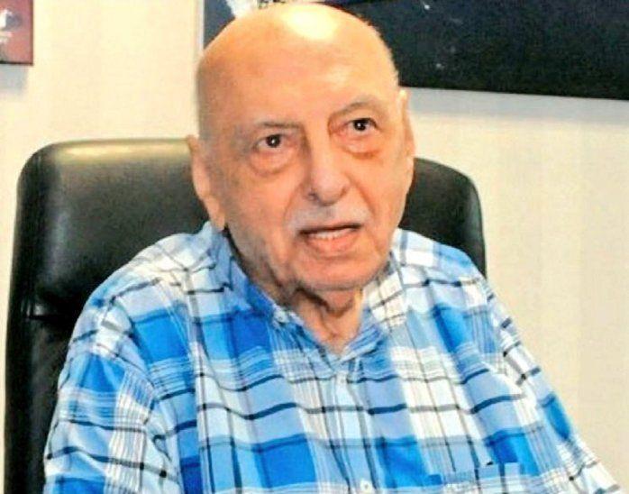 Falleció Abraham Zapag.
