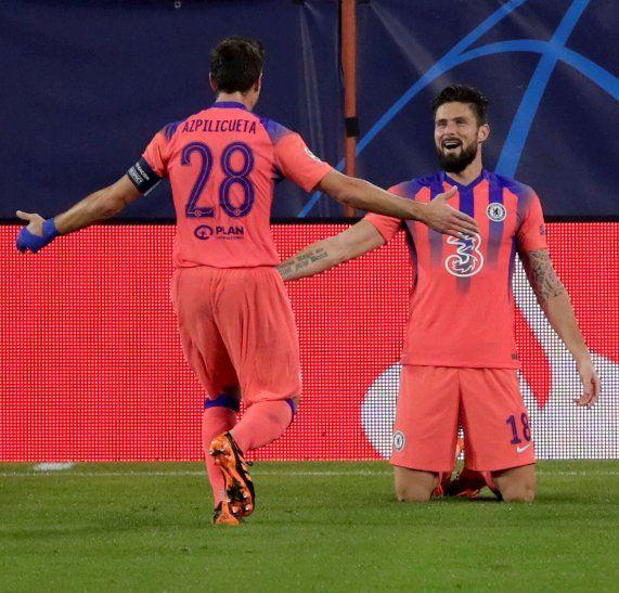 El Chelsea goleó este miércoles al Sevilla.
