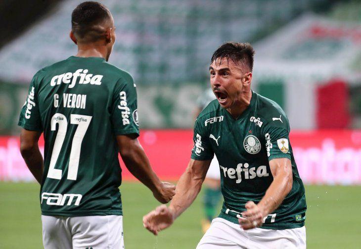 Palmeiras aplasta al Delfín ecuatoriano y se inscribe en los cuartos.