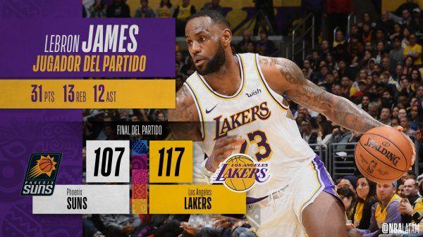<p>Fuente: @NBA</p>