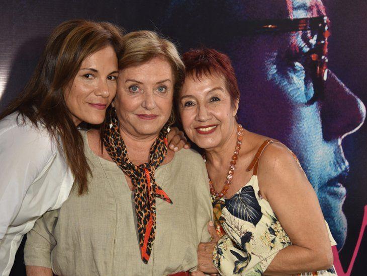 Ana Ivanova, Ana Brun y Margarita Irún, protagonistas de Las herederas.