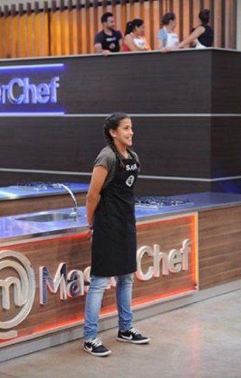 Sara dejó anoche la cocina de MasterChef Paraguay.