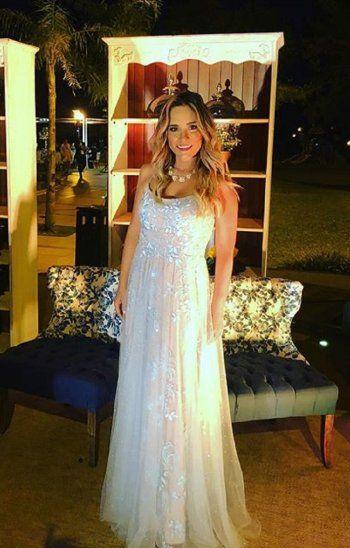 La conductora de Cuestión de peso Paraguay, Karina Doldán, culmina el 2018 feliz y agradecida, rodeada del amor de su familia.