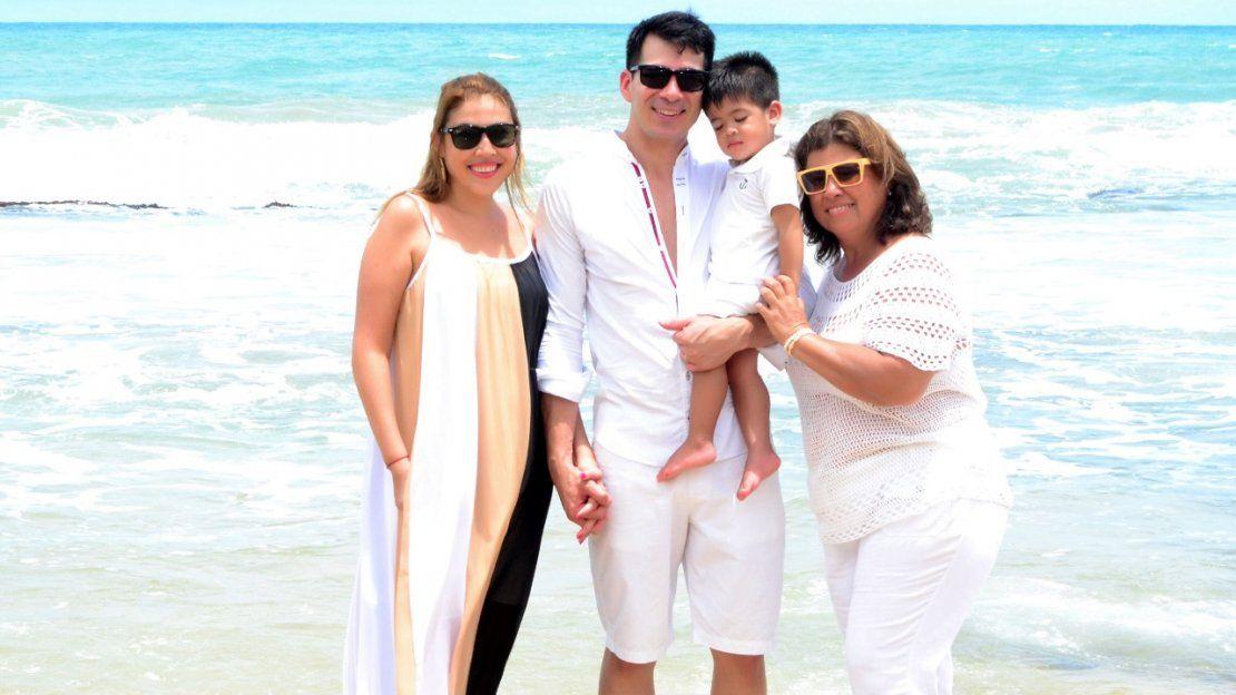 Amalia Cutillo y César Pereira celebran ocho años de puro amor